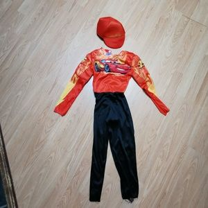Lighting McQueen outfit size 4-6